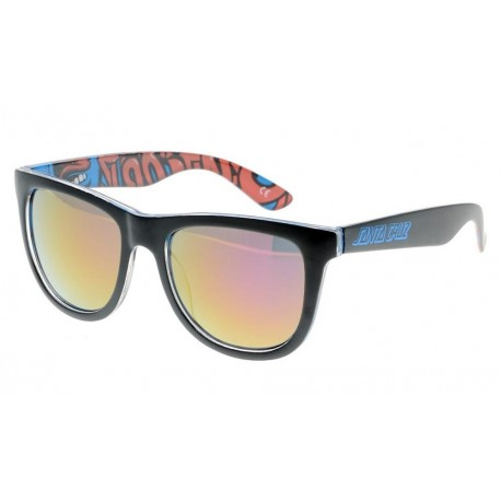 LUNETTE DE SOLEIL SANTA CRUZ SCREAMING INSIDER - BLACK BLUE