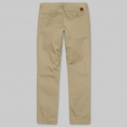 PANTALON CLUB PANT QUESTA LEATHER RINSED