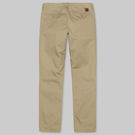 PANTALON CARHARTT WIP CLUB PANT QUESTA LEATHER RINSED