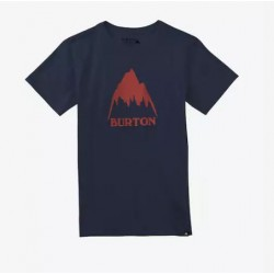 T-SHIRT BURTON BOYS CLASSIC MOUNTAIN - INDIGO