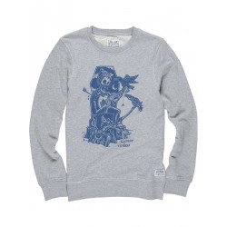 SWEAT ELEMENT TIMBER CR BOY GREY HEATHER