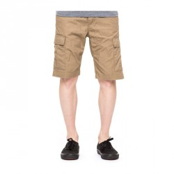 SHORT CARHARTT - AVIATION LEATHER RINSED