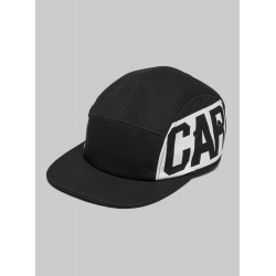 CASQUETTE CARHARTT CART SCRIPT - BLACK WHITE