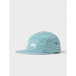 CASQUETTE STUSSY GINGHAM STOCK CAMP CAP