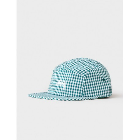 CASQUETTE STUSSY GINGHAM STOCK CAMP CAP