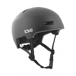 CASQUE TSG STATUS SOLID COLOR - SATIN BLACK