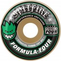 ROUES SPITFIRE FORMULA FOUR 101D CONICAL GREEN PRINT - 54MM