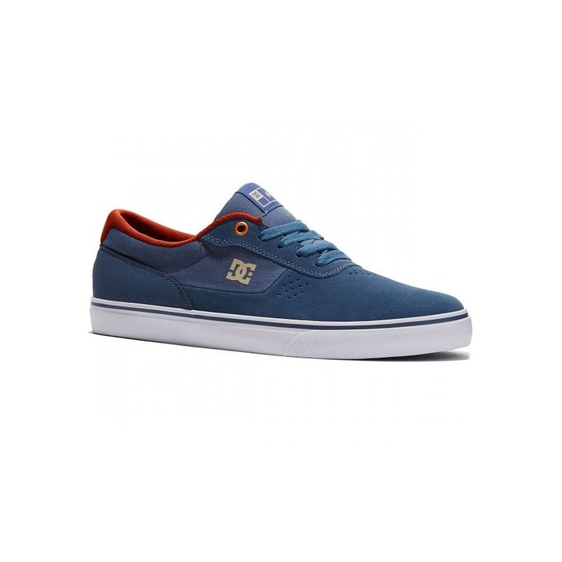 chaussures dc shoes switch s vintage indigo. Black Bedroom Furniture Sets. Home Design Ideas