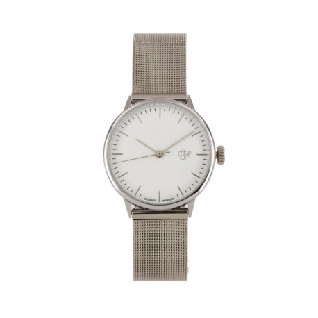 MONTRE CHEAPO NANDO - MINI SILVER WHITE METAL