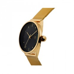 MONTRE CHEAPO NANDO - MINI GOLD BLACK METAL