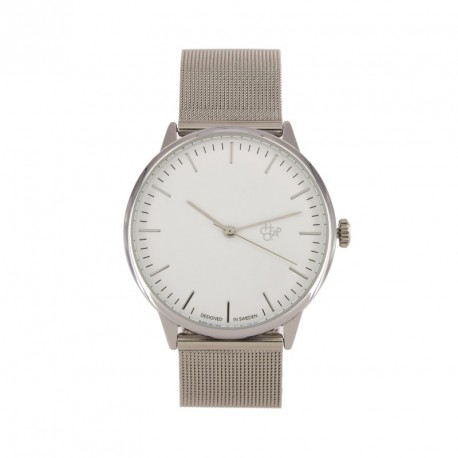 MONTRE CHEAPO NANDO - SILVER WHITE METAL