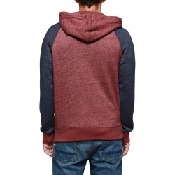 SWEAT ELEMENT MERIDIAN ZIP - OXBLOOD RED