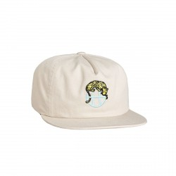 CASQUETTE HUF LEOPARD SNAPBACK - IVORY