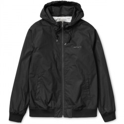 VESTE CARHARTT MARSH JACKET - BLACK / SHELL
