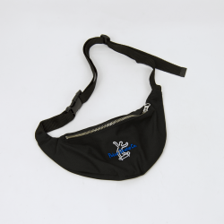 SACOCHE POLAR HIP BAG - BLACK