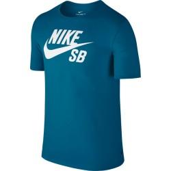 T-SHIRT NIKE SB LOGO - BLUE