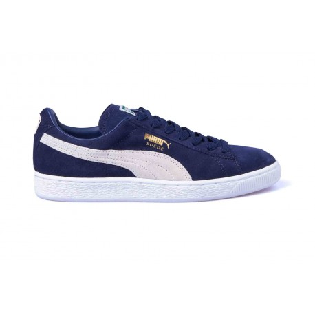 CHAUSSURES PUMA SUEDE CLASSIC+ - PEACOAT / WHITE