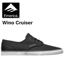 CHAUSSURE EMERICA THE WINO - BLACK/WHITE