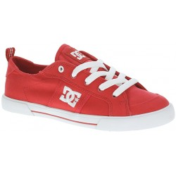 CHAUSSURE DC FIONA CANVAS - RED