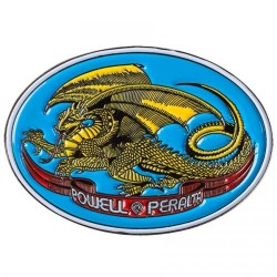 PIN'S POWELL PERALTA - OVAL DRAGON