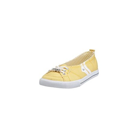CHAUSSURE DVS REGENCY SLIP GIRLS - LEMON CANVAS