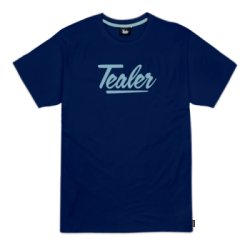 T-SHIRT TEALER SIGNATURE - NAVY