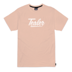 T-SHIRT TEALER SIGNATURE - PEACH