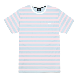 T-SHIRT TEALER STRIPED - PINK