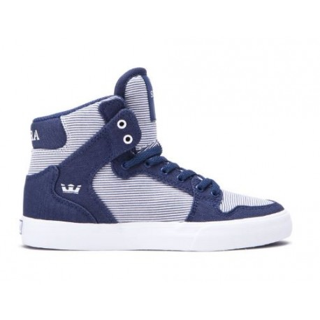 CHAUSSURE SUPRA KID VAIDER - BLUE / WHITE