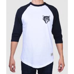 RAGLAN JACKER BLACK CATS - WHITE