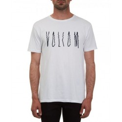 T-SHIRT VOLCOM SMEAR BSC SS - WHITE