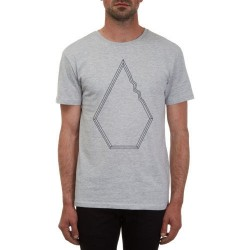T-SHIRT VOLCOM DREW BSC - HEATHER GREY