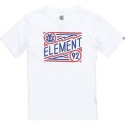 T-SHIRT ELEMENT JAGGER BOY - OPTIC WHITE