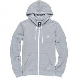 SWEAT ELEMENT CORNELL ZIP BOY - GRIS CHINE