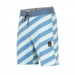 SHORT VOLCOM STRIPEY STONEY 19 - DEEP WATER
