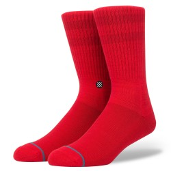 CHAUSSETTES STANCE - UNCOMMON SOLIDS DOMAIN - RED