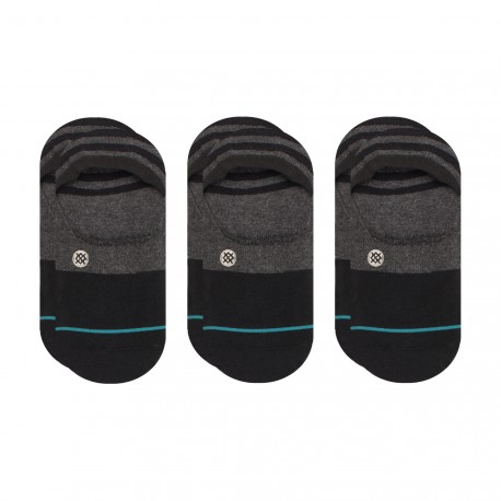 CHAUSSETTE STANCE GAMUT 3 PACK - BLACK