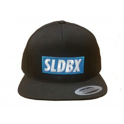 CASQUETTE SLIDEBOX SNAPBACK - BLACK/BLUE