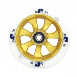 ROUE BLUNT 7 SPOKES 110MM - WHITE / GOLD