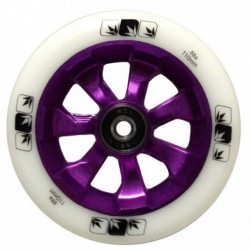 ROUE BLUNT 7 SPOKES 110MM - WHITE / PURPLE