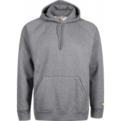 SWEAT CARHARTT WIP CHASE HOODED - ASH GREY