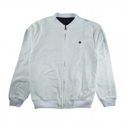 VESTE MAGENTA REVERSIBLE JACKET - WHITE / BLACK