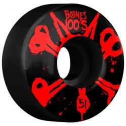 ROUES BONES 100S V4 OG BLACK - 51MM