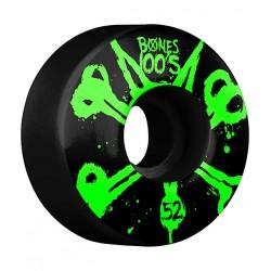 ROUES BONES 100S V4 OG BLACK - 52MM