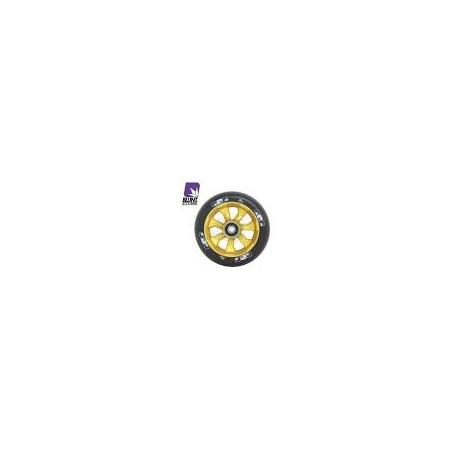 ROUE BLUNT 7 SPOKES 110MM - BLACK/GOLD