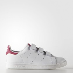 CHAUSSURE ADIDAS KID STAN SMITH CF - ROSE