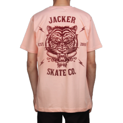 T-SHIRT JACKER - TIGER CO - CORAL