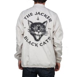 VESTE JACKER - BLACK CATS - KHAKI