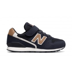 CHAUSSURE KID NEW BALANCE 996V2 - NAVY-WHITE