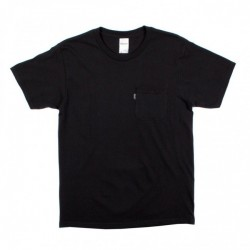 T-SHIRT RIPNDIP EAT ME POCKET - BLACK